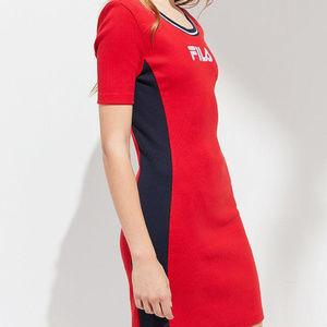FILA WOMEN'S BETH BODYCON DRESS LW181M28 NWT